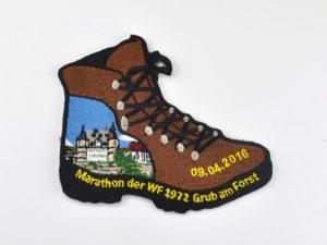 Wander Marathon Aufnäher gestickt