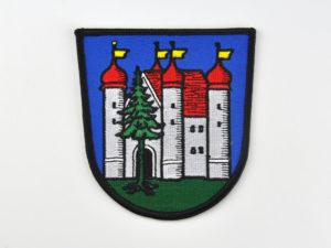 gesticktes Wappen