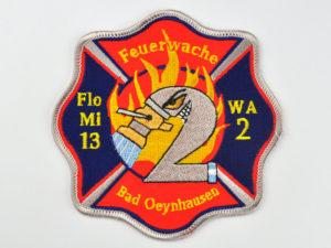 Aufnaeher Feuerwache