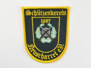Schützenverein gestickter Aufnäher