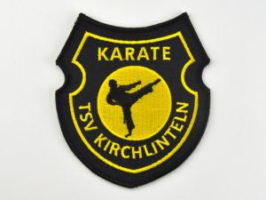 Karate Aufnäher gestickt